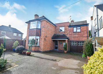 Thumbnail 4 bed detached house for sale in Glebe Rise, Littleover, Derby