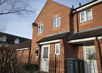 Thumbnail 3 bed end terrace house to rent in Eden Close, Hilton, Derby