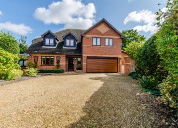 Thumbnail 5 bed detached house for sale in Ermine Street, Caxton, Cambridge