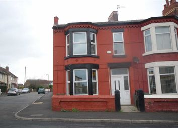 Thumbnail 3 bed end terrace house to rent in Kent Road, Wallasey, Wirral