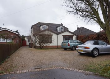 Thumbnail 4 bed detached bungalow for sale in Bell Lane, Ipswich