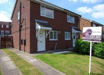 Thumbnail 2 bed semi-detached house to rent in Meldon Road, Heysham, Morecambe