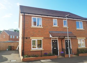 Thumbnail 3 bed semi-detached house for sale in Brickwharf Drive, Worcester