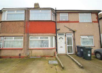 Thumbnail 2 bed maisonette for sale in Burnham Crescent, Dartford