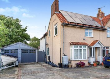 Thumbnail 4 bed semi-detached house for sale in Saxtead Road, Framlingham