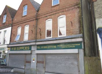 Thumbnail 1 bed flat for sale in Cheriton High Street, Folkestone