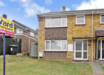 Thumbnail 3 bed end terrace house for sale in Rentain Road, Chartham, Canterbury, Kent