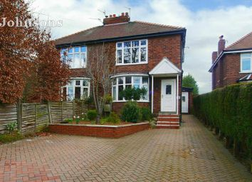 Thumbnail 3 bed semi-detached house for sale in Tickhill Road, Harworth, Doncaster.