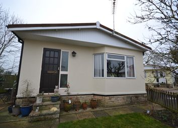 Thumbnail 2 bed mobile/park home for sale in Dursley Vale Park, Woodfields, Dursley