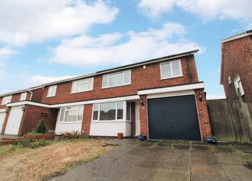 Thumbnail 3 bed semi-detached house for sale in Leyside, Bromham, Bedford