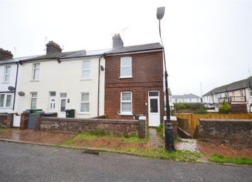 Thumbnail 2 bed end terrace house for sale in Leaf Road, Eastbourne