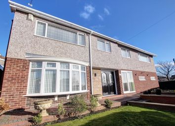 Thumbnail 5 bed detached house for sale in Portland Gardens, Low Fell, Gateshead