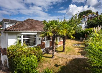 Thumbnail 3 bed detached bungalow for sale in Durrant Road, Lower Parkstone, Poole