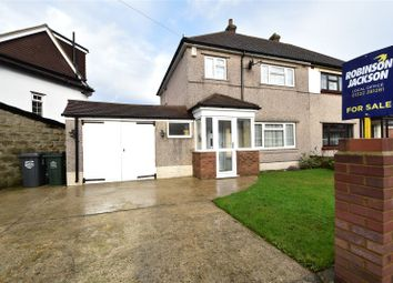 Thumbnail 3 bed semi-detached house for sale in Rosedale Close, Dartford, Kent