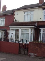Thumbnail 3 bedroom terraced house for sale in Boulton Road, Birmingham