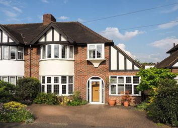 Thumbnail 3 bed semi-detached house for sale in Revell Road, Cheam, Sutton