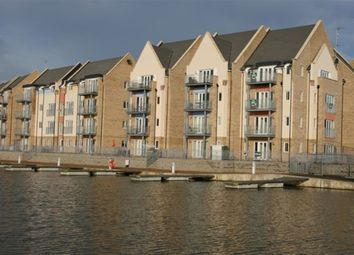 Thumbnail 3 bedroom flat to rent in 44 Wren Walk, Eynesbury Marina, St Neots
