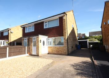 Thumbnail 2 bed semi-detached house to rent in Farnham Close, Mickleover, Derby