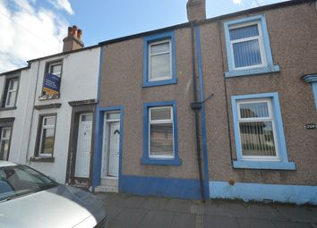 Thumbnail 2 bed terraced house to rent in Ross View, Main Road, High Harrington, Workington
