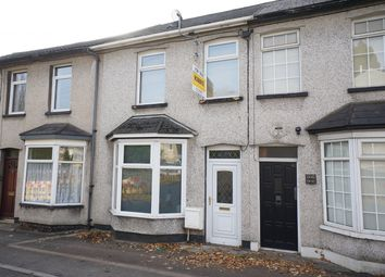 Thumbnail 2 bed terraced house for sale in Risca Road, Rogerstone, Newport