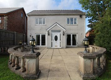 Thumbnail 4 bed detached house for sale in Old Blaenavon Road, Brynmawr, Ebbw Vale