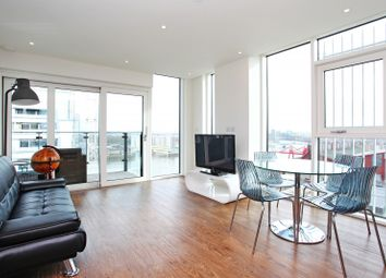 Thumbnail 2 bed flat to rent in Witham House, Enterprise Way, Wandsworth