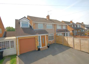 Thumbnail 4 bedroom semi-detached house for sale in Court Farm Road, Whitchurch