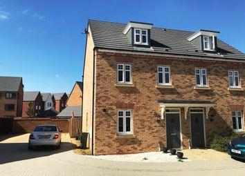 Thumbnail 3 bed semi-detached house for sale in Quintus Close, Fairfields `, Milton Keynes, Bucks