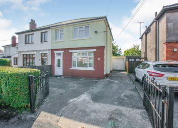 Thumbnail 3 bed semi-detached house for sale in Claremont Crescent, Rumney, Cardiff