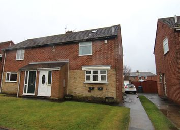 Thumbnail 2 bed semi-detached house for sale in Forster Avenue, Sherburn Village, Durham