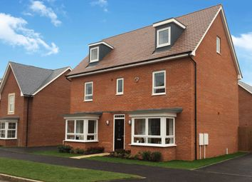 "Thumbnail 5 bed detached house for sale in ""Warwick"" at Gold Furlong, Marston Moretaine, Bedford"