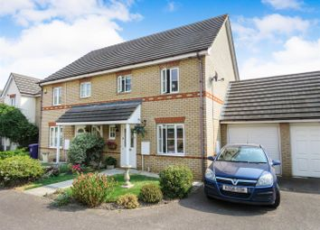 Thumbnail 3 bed semi-detached house for sale in Titchmarsh Close, Royston