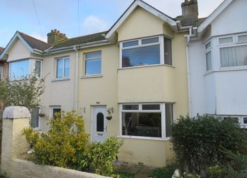 Thumbnail 3 bed terraced house for sale in Main Avenue, Torquay