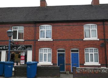 Thumbnail 2 bed terraced house to rent in Tamworth Road, Two Gates, Tamworth
