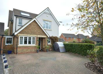 Thumbnail 4 bed detached house for sale in Charles Babbage Close, Chessington