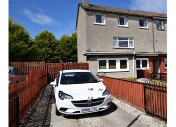 Thumbnail 3 bed end terrace house for sale in Melrose Place, Coatbridge
