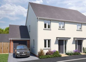 "Thumbnail 3 bed semi-detached house for sale in ""The Ashridge"" at Vicarage Hill, Kingsteignton, Newton Abbot"