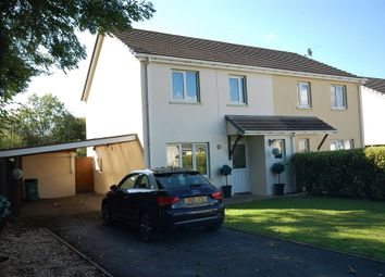 Thumbnail 3 bed semi-detached house for sale in The Grove, Begelly, Kilgetty
