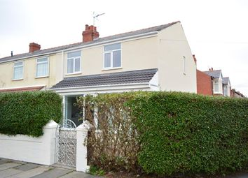 Thumbnail 3 bedroom end terrace house for sale in Ansdell Road, Blackpool