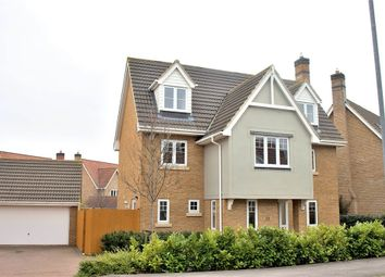 Thumbnail 6 bed detached house for sale in Woodlands Park Drive, Dunmow