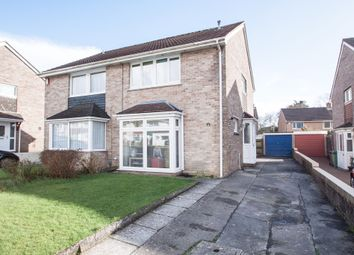 Thumbnail 3 bedroom semi-detached house for sale in Caldicot Gardens, Plymouth