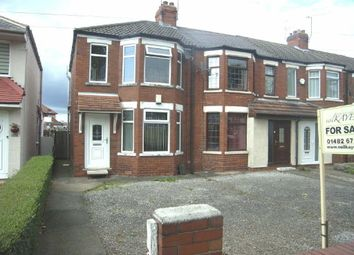 Thumbnail 2 bedroom end terrace house to rent in Willerby Road, West Hull, Hull