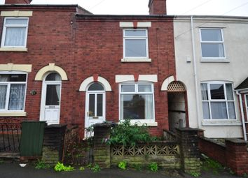 Thumbnail 3 bed terraced house to rent in Oxford Street, Church Gresley, Swadlincote