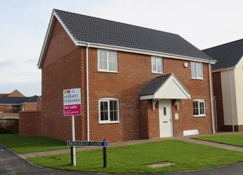 Thumbnail 4 bedroom detached house for sale in Blackthorn Road, Wymondham
