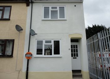 Thumbnail 2 bed end terrace house for sale in First Avenue, Chatham