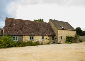 Thumbnail 4 bed barn conversion to rent in Brighthampton, Witney