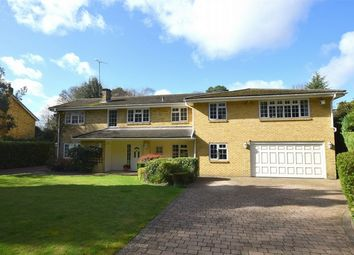 Thumbnail 5 bed detached house for sale in Brackendale Road, Camberley, Surrey