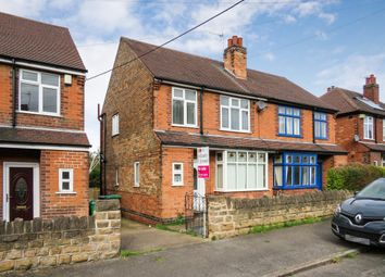 Thumbnail 3 bed semi-detached house for sale in Bannerman Road, Bulwell, Nottingham