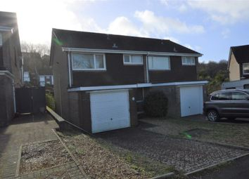 Thumbnail 3 bed semi-detached house for sale in Hurst Close, Plymouth, Devon
