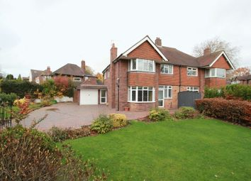 Thumbnail 4 bed semi-detached house for sale in Dartmouth Avenue, Newcastle-Under-Lyme